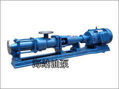 <b>G型单螺杆泵</b>
